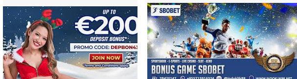Promo sbobet dengan bonus yang berlimpah